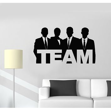 Vinyl Wall Decal Office Interior Teamwork Job People Work Stickers Mural (g2992)