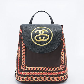 Stussy Scarf Mini Backpack in Black - Urban Outfitters