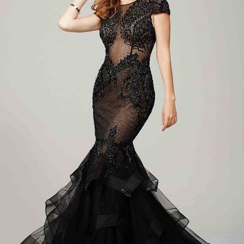 Amazing Long Pageant Jovani Dress 26947