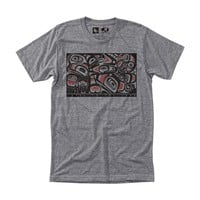 Formline Tee Heather Grey / HippyTree
