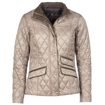 Augustus Quilted Jacket in Taupe by Barbour - FINAL SALE