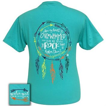 Girlie Girl Originals Preppy Dream Feathers Arrows Faith T-Shirt