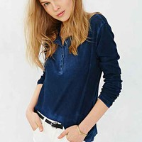 Cotton Citizen Marabella Henley- Navy