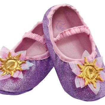 Rapunzel Toddler Slippers Beautiful Costume