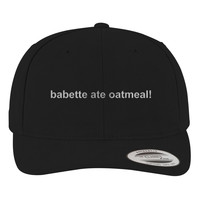 Gilmore Girls - Babette Ate Oatmeal Brushed Embroidered Cotton Twill Hat
