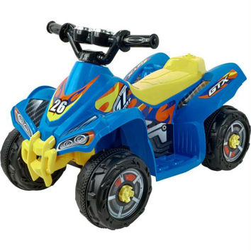 Lil' Rider? Blue Bandit GT Sport - Battery Operated ATV