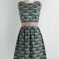 Mid-length Sleeveless A-line Darling Dracopis Dress