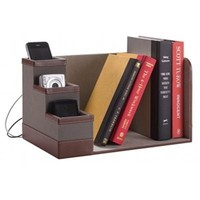 Book Cubby with Charging Station