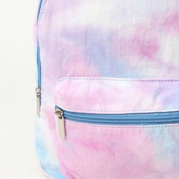 ONETOW LA Hearts Canvas Tie Dye Backpack at PacSun.com