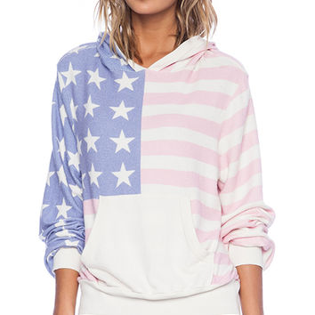 Wildfox Couture Miss America Hoodie in White