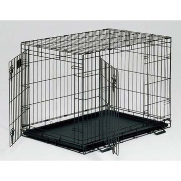 Midwest LS-1622DD Life Stages Double Door Dog Crate