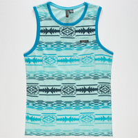 Distortion Tribe Boys Tank Mint  In Sizes