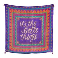 Natural Life Collections | It's The Little Things Silk Tapestry | Nordstrom Rack