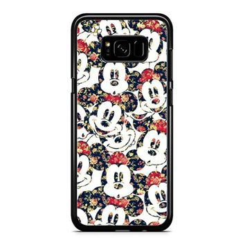 Mickey Mouse Wallpaper Samsung Galaxy S8 Case