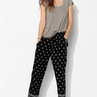 MINKPINK Nights Boho-Print Pull-On Pant - Urban Outfitters