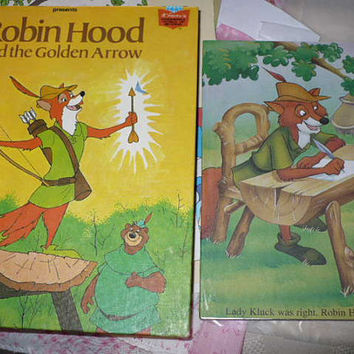 Robin Hood, Golden Book Planner,  Weekly Planner 2016, Add On Journal, Tote Bag, Planner Charm,