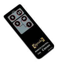 Opteka RC-4 Wireless Remote Control for Canon EOS Digital Rebel XT, XTi, XSi, T1i, T2i, T3i, T4i, 60D, 7D & 5D Mark II/III Digital SLR Cameras