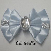 Cinderella Mini Hair Bow