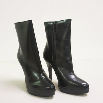 HENRY LEATHER ANKLE BOOT (SAMPLE)