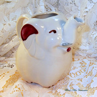 Vintage Creamer Shawnee Elephant  TREASURY by EllensAtticTreasures