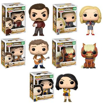 Parks & Recreation POP! Vinyl Figure Set of 5
