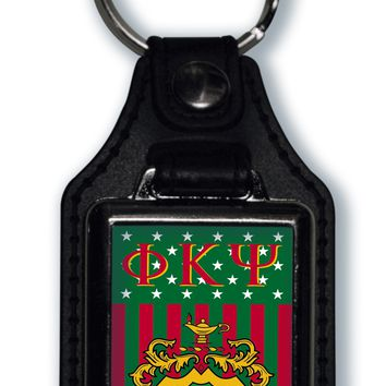 Phi Kappa Psi US Flag Style Licensed Greek Life Keychain