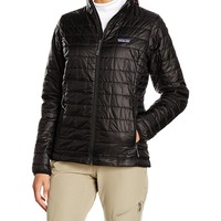 Womans Nano Puff Jacket Black 84217 Patagonia