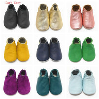Sayoyo Brand Baby Boy Shoes Girl Genuine Cow Leather Baby Moccasin Soft Soled Infant Toddler Shoes Sapato Sneaker