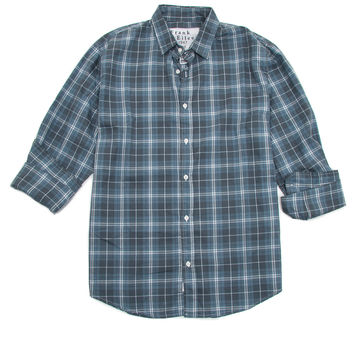 Frank & Eileen Blue Plaid Paul Shirt