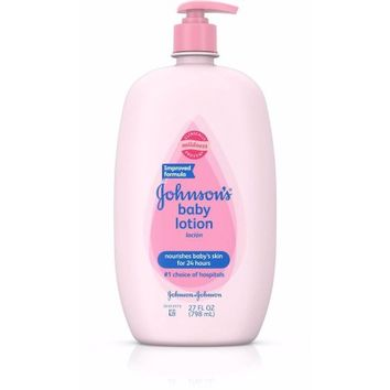 Johnson & Johnson Baby Lotion, 27 oz - Walmart.com