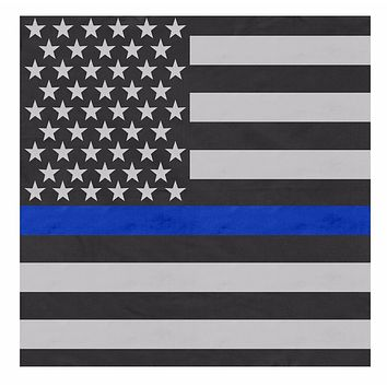 Rothco Thin Blue Line Flag Bandana