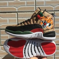 Air Jordan 12 x Gucci tiger Sneaker