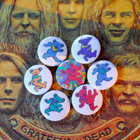 "Grateful Dead Bears 1"" Pinback Buttons"