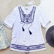 The Roe Embroidered Tunic