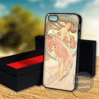Alphonse Mucha case for Note 2,3/iPod 4th 5th/iPhone 5,5s,5c,4,4s,6,6+[ JYJ ] LG Nexus/HTC One/Samsung Galaxy S3,S4,S5