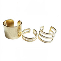 Cutout Ring Set (3 Pcs)