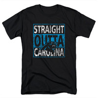 Carolina Panthers Shirt Cam Newton Jersey Straight Outta Carolina Shirt