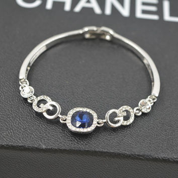 Awesome New Arrival Great Deal Hot Sale Shiny Gift Korean Gemstone Stylish Crystal Accessory Bracelet [10417741204]