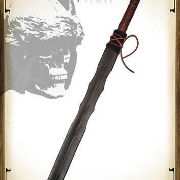 High quality Larp sword, Grendel, sword of the Barbarians.