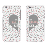 BFF Leopard Print Phone Cases