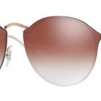 RAY BAN 3574N 3574 59 9035V0 BLAZE COPPER SUNGLASSES RED GRADIENT LUNETTES