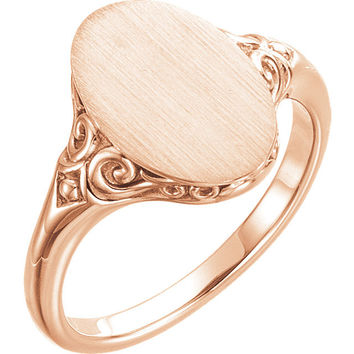 Best Heart Signet Ring Products On Wanelo
