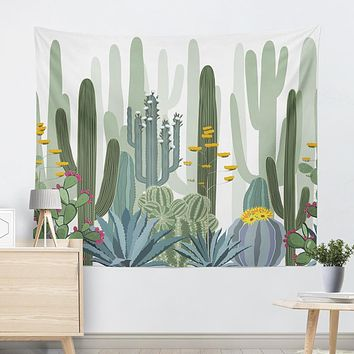 Casual Cactus Tapestry
