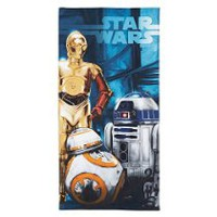 "Star Wars Ep7 The Droids 28"" X 58"" 100Percent Cotton Beach/Bath/pool Towel"