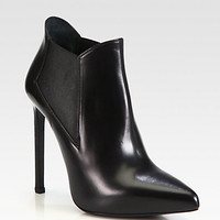 Paris Leather Ankle Boots - Zoom - Saks Fifth Avenue Mobile