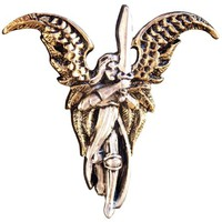 Archangel Michael for Freedom from Past Pendant Charm Amulet Talisman From Briar Angels & Fairies Collection (BAF16)