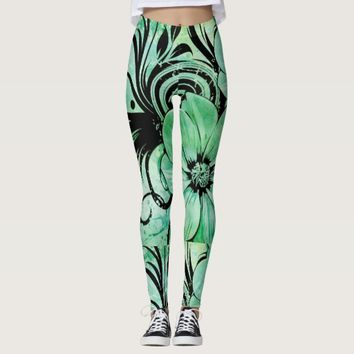 Floral Women's Leggings