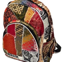 HANDMADE BATIK PATCHWORK BACKPACK
