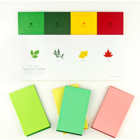 Seasonal Colors Memo Pad Set