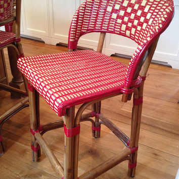 French Bistro Bar Stools/Chair (Originally $2500)
